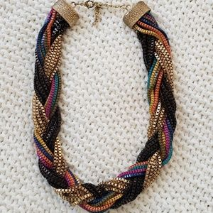 Chunky Multicolored Chain necklace